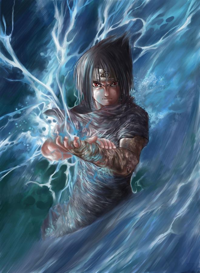 Sasuke Demon Chidori